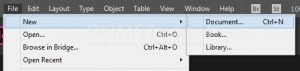 Cara Memasukan File Excel Kedalam Software Adobe Indisign