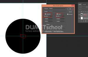 Cara Duplikat Objek Keliling Lingkaran Di Photoshop - 3