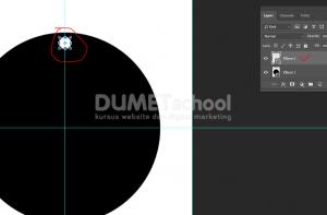 Cara Duplikat Objek Keliling Lingkaran Di Photoshop - 4