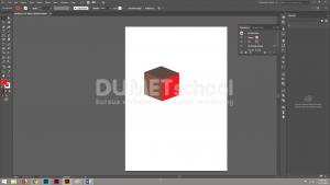Cara Membuat Objek Berbentuk Dadu Dengan Mengunakan Adobe Illustrator