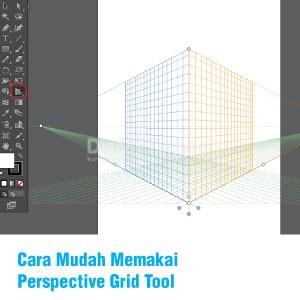 Cara Memakai Fitur Tool Perspective Dengan Illustrator