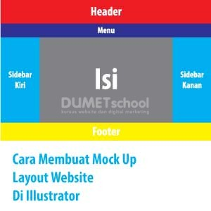 Cara Membuat Mock Up Layout Website Di Illustrator