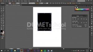 Cara Memotong Objek dengan Cepat Pada Software Adobe Illustrator