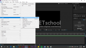 Cara Mengatasi Audio Preview pada Software Adobe After Effect
