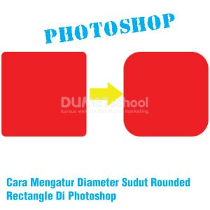 Cara Mengatur Diameter Sudut Rounded Rectangle Di Photoshop