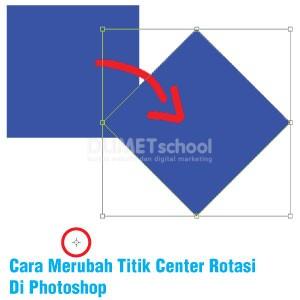 Cara Merubah Titik Center Rotasi Di Photoshop