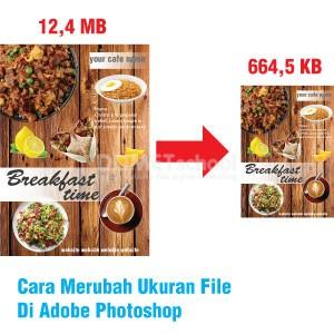 Cara Merubah Ukuran File Di Adobe Photoshop