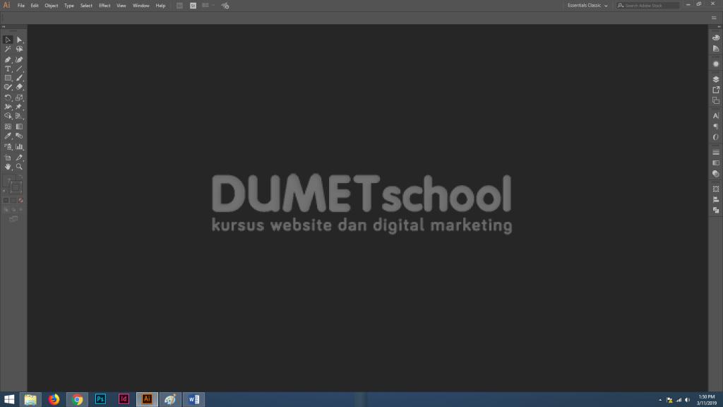 Cara Menyimpan Hasil Desain Kedalam Cloud di Adobe Illustrator