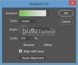 Cara Memberi Warna Gradasi pada Layer Tanpa Menggunakan Gradient Tool
