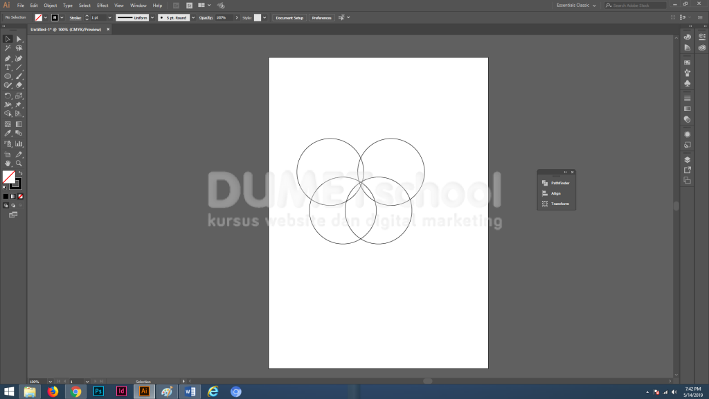 Cara Membuat Karakter Animasi Binatang di Adobe Illustrator Part 3