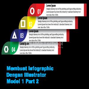 Membuat Infographic Dengan Illustrator Model 1 Part 2