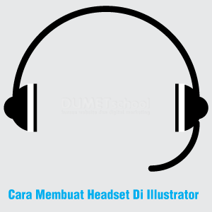 Cara Membuat Headset Di Illustrator