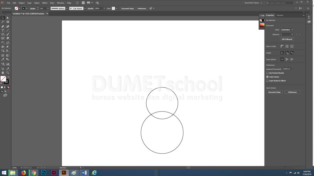 Membuat Gitar Flat Design di Adobe Illustrator