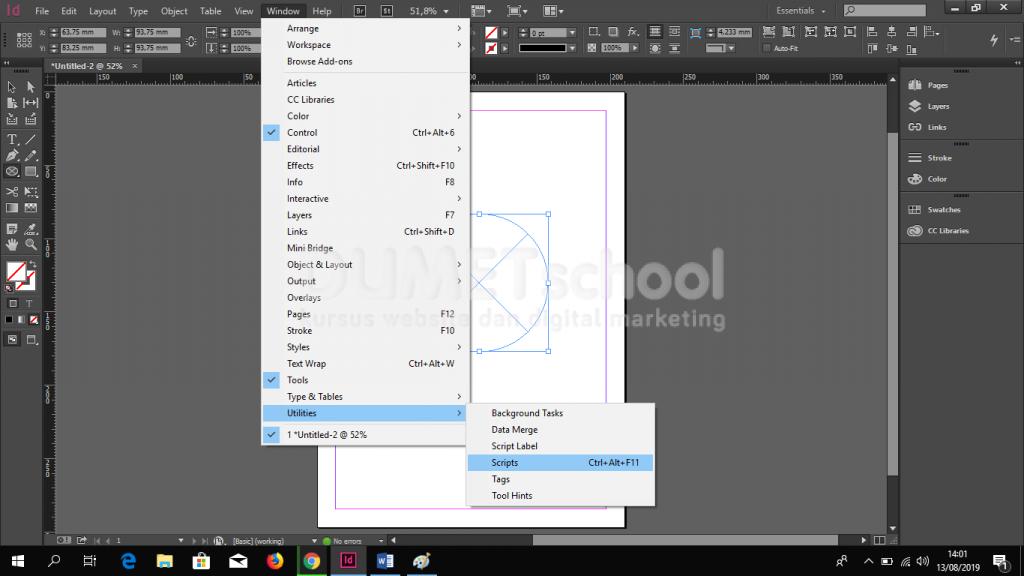Cara Memberi Effect Pada Frame di Adobe Indesign