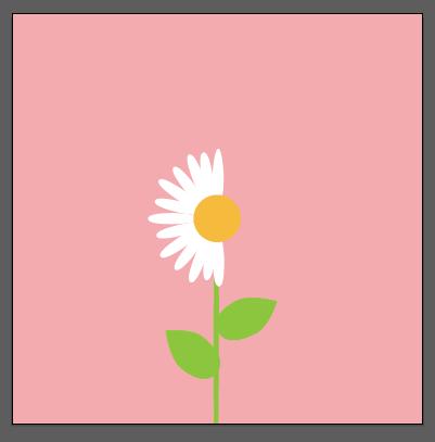 Tutorial Membuat Flat Desain Bunga Daisy Kursus Desain Grafis
