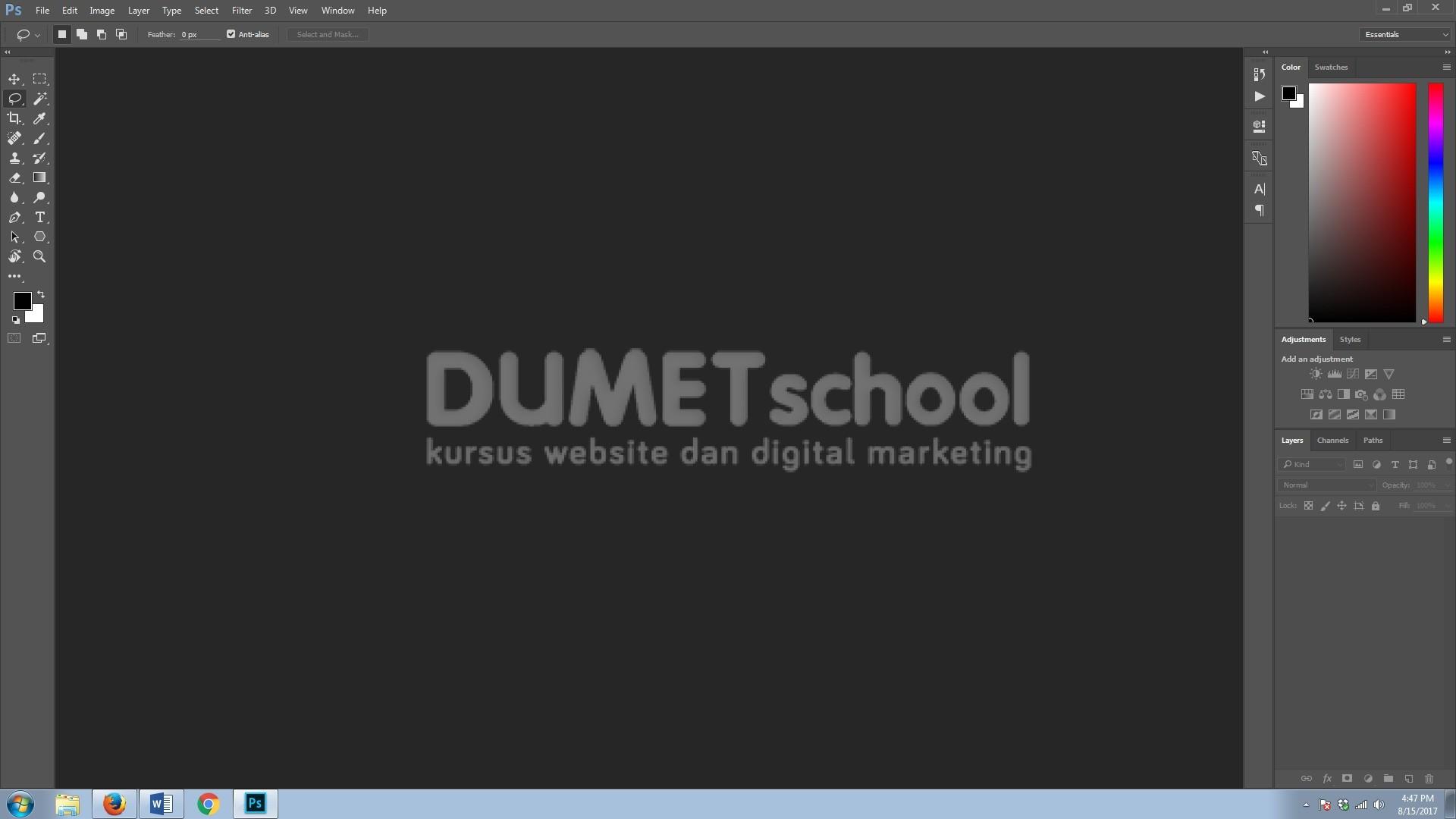 Cara Menghilangkan Objek Mengganggu Di Software Pengolah Gambar Adobe Photoshop
