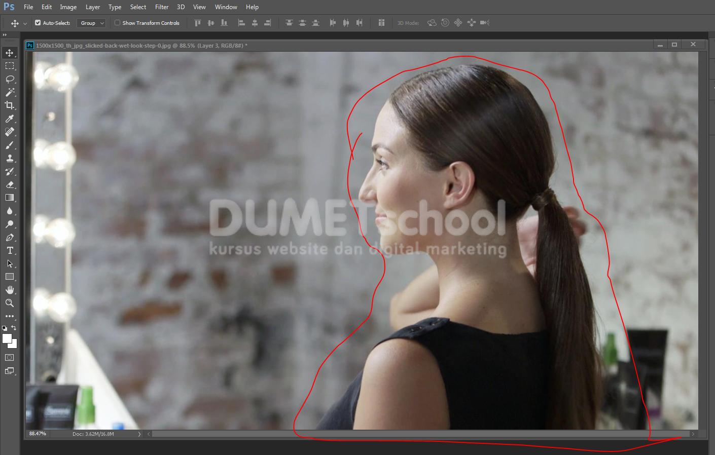 Cara Membuat Photo Siluet Dengan Photoshop Kursus Desain Grafis