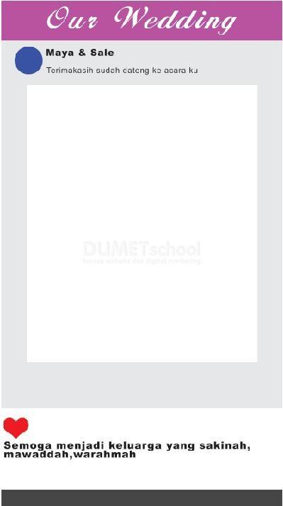 cara membuat frame photo wedding dengan photoshop kursus desain grafis cara membuat frame photo wedding dengan