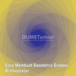 Cara Membuat Geometric Gradasi Di Illustrator