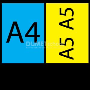 Cara Melayout Brosur A4 dan A5 Untuk Di Cetak