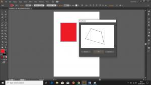Cara Memanfaatkan Fitur Free Distort pada Software Pengolah Gambar Adobe Illustrator CS6