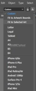 Cara Memperbesar ukuran Artboard Sesuai dengan Objek di Adobe Illustrator