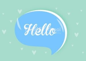 Membuat Bubble Hello di Illustrator