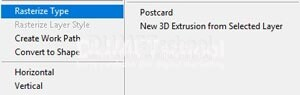 Membuat Text Bergambar di Adobe Photoshop
