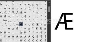 Cara Menampilkan Glyphs di Illustrator