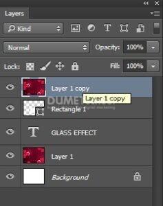 Membuat Efek Glass di Adobe Photoshop